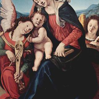 성모와 천사들