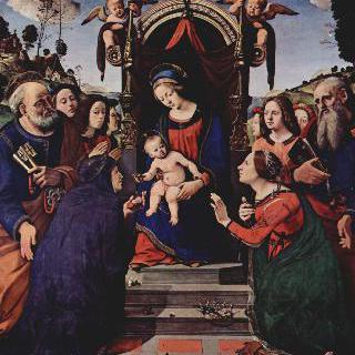 알렉산드리아의 성녀 카타리나의 신비한 결혼식
