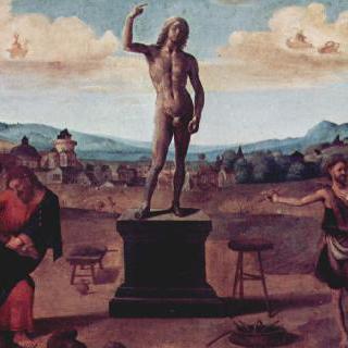 프로메테우스 신화, 5개의 그림으로 된 연작
