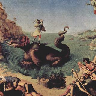 안드로메다를 풀어주는 페르세우스