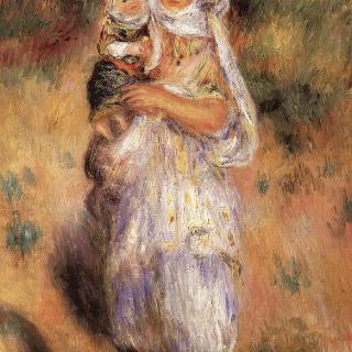 알제리여인과 아이