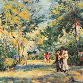 몽마르트의 공원