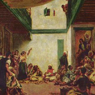유대인 결혼식 (들라크루아 작품 모작)