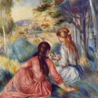 초원의 소녀들