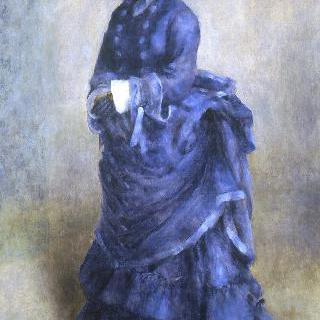 파리의 처녀 (파란 옷을 입은 여인)