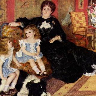 샤르팡티에 부인과 아이들의 초상