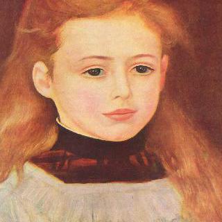 뤼시 베라르의 초상 (하얀 앞치마를 두른 소녀)