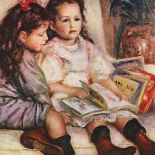 장과 주느비에브 카유보트의 초상