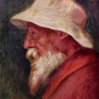 하얀 모자를 쓴 자화상