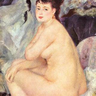 여성 누드 (안나)