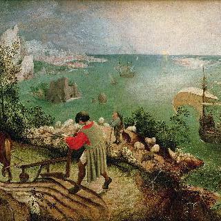 이카로스의 추락이 있는 풍경