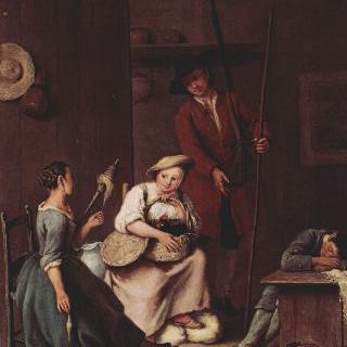 사냥꾼과 시골여인들