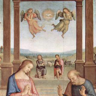 성 아우구스티누스 제단화 : 목동들의 경배