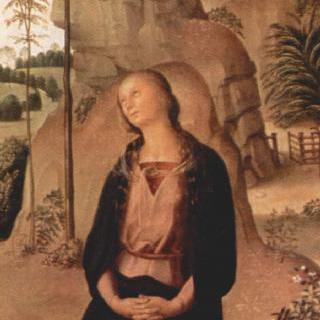 갈리친의 세폭화, 오른쪽 날개 : 성 마리아 막달레나