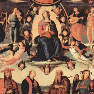 마리아의 승천과 네 명의 성인