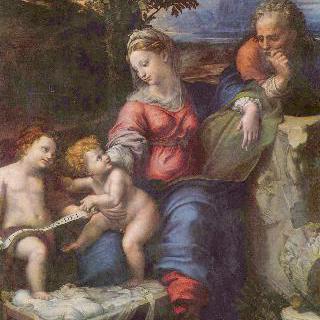 떡갈나무 밑에 있는 성 가족과 세례 요한