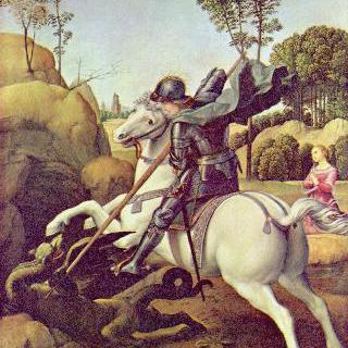 용과 싸우는 성 게오르기우스