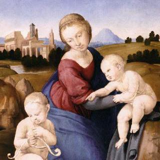 에스테르하지의 성모 : 마리아와 아기 그리스도와 세례 요한