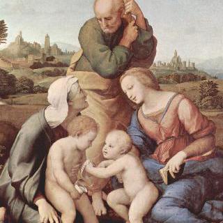 카니자니의 성 가족 : 성 가족과 성 엘리사벳과 성 세례 요한