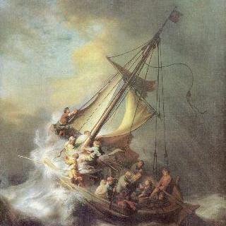 갈릴리 호수의 폭풍