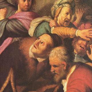 성전에서 환전상들을 쫓아내는 그리스도