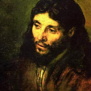 그리스도의 두상 (실물대로 그린 그리스도)