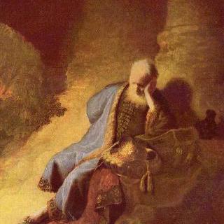 예루살렘의 파괴를 슬퍼하는 예레미야