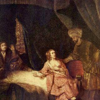 보디발의 아내에게서 죄를 뒤집어쓰는 요셉