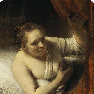 침대의 젊은 여인 (헤이르티에로 추정)