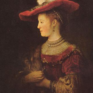 사스키아 판 아윌렌뷔르흐의 초상