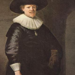 남자의 초상, 시인 얀 헤르만스 크륄로 추정