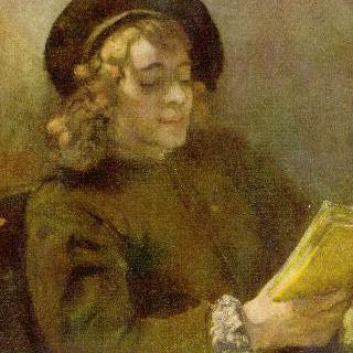 책 읽는 티튀스의 초상