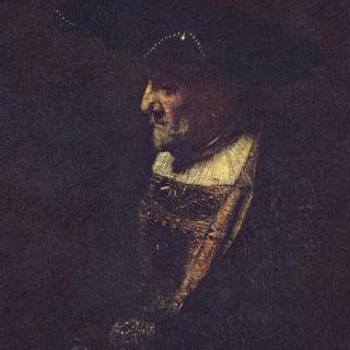 진주 달린 모자를 쓴 남자의 초상