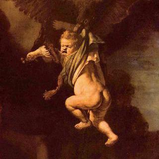 독수리에게 붙들린 가니메데스