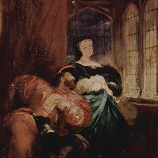 프란체스코 1세와 나바라의 마르게리타