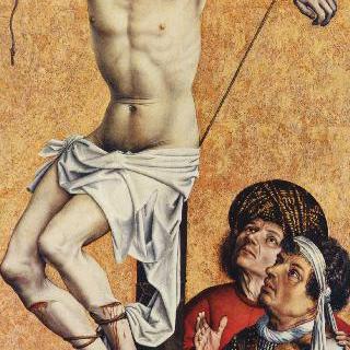 십자가에 못 박힌 도둑, 일부조각