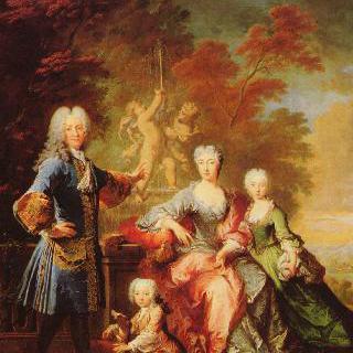 플레텐베르크 백작 페르디난트 아돌프 가족의 초상