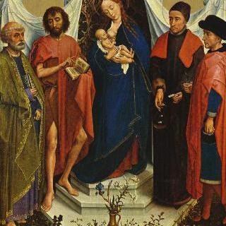 메디치의 성모 : 성모와 성 베드로, 세례 요한, 성 코스마스와 다미안