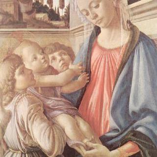 성모와 두 천사