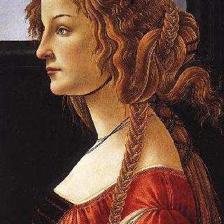 시모네타 베스푸치의 초상
