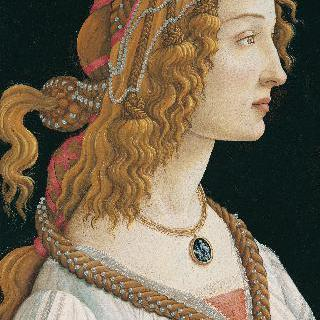 젊은 여인의 초상 (시모네타 베스푸치 )