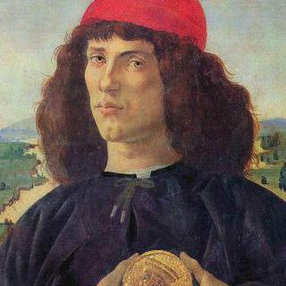 코시모 메디치의 메달을 든 남자의 초상