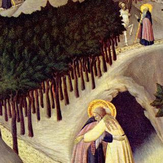 성 안토니우스와 테베의 성 파울루스의 만남