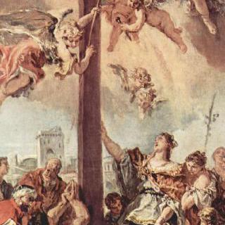 성 십자가를 찾아낸 성 헬레나, 초벌그림