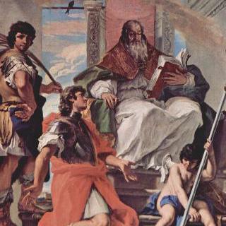 성 프로쿨루스, 성 피르무스와 베로나의 성 루스티쿠스 및 천사