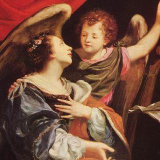 성 세실리아와 천사