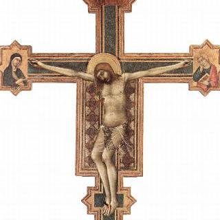 십자가상, 그리스도와 마리아와 요한