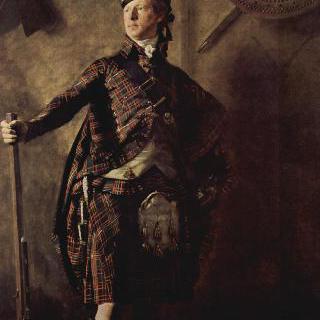 글렌개리의 알라스테어 맥도넬 대령의 초상