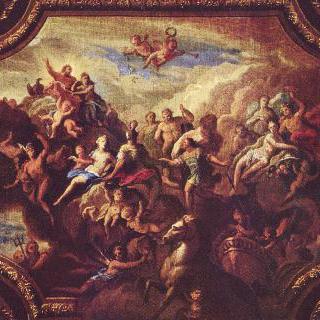 올림포스에 모인 신들