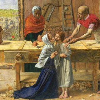부모의 집에 있는 예수 (목수의 작업장) 이미지